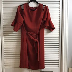 Ann Taylor Factory Cold Shoulder Dress